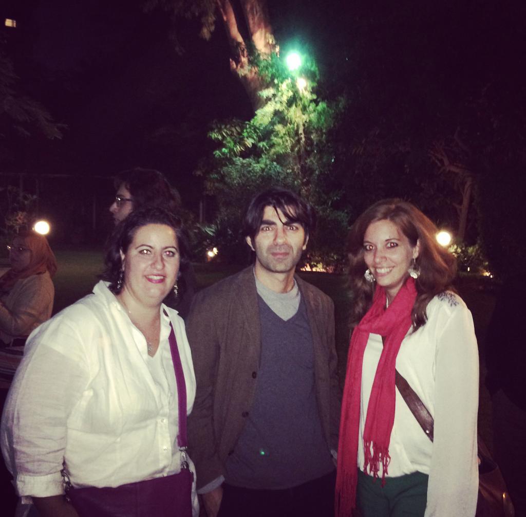 Nadia, Fatih und ich
